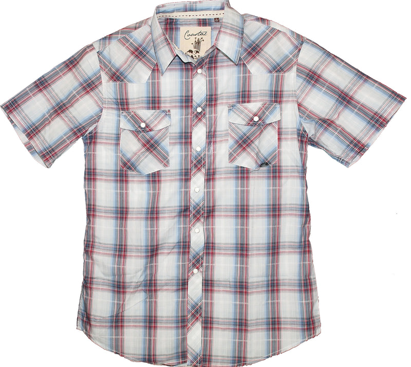 Tommy Mens Shirt White/Red