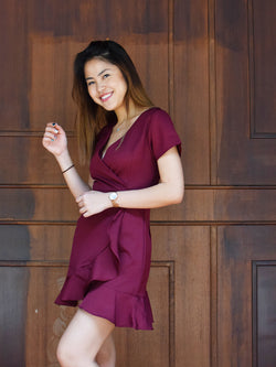 Hot Date Wrap Dress