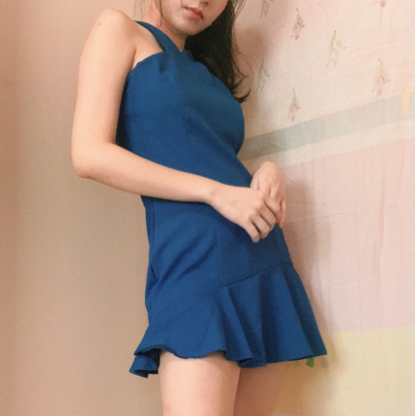 Ecstacy Blue Dress