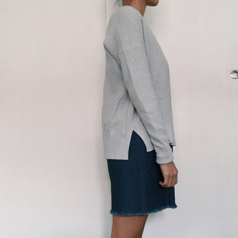 Gap Grey Knit Sweater