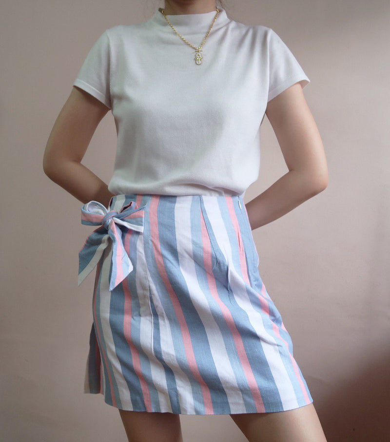 Finders Keepers Stripe Skirt