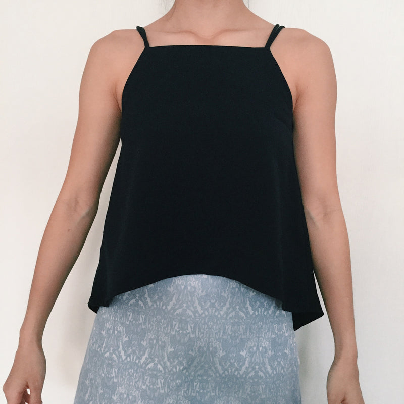 The Editors' Market Navy Halter Top