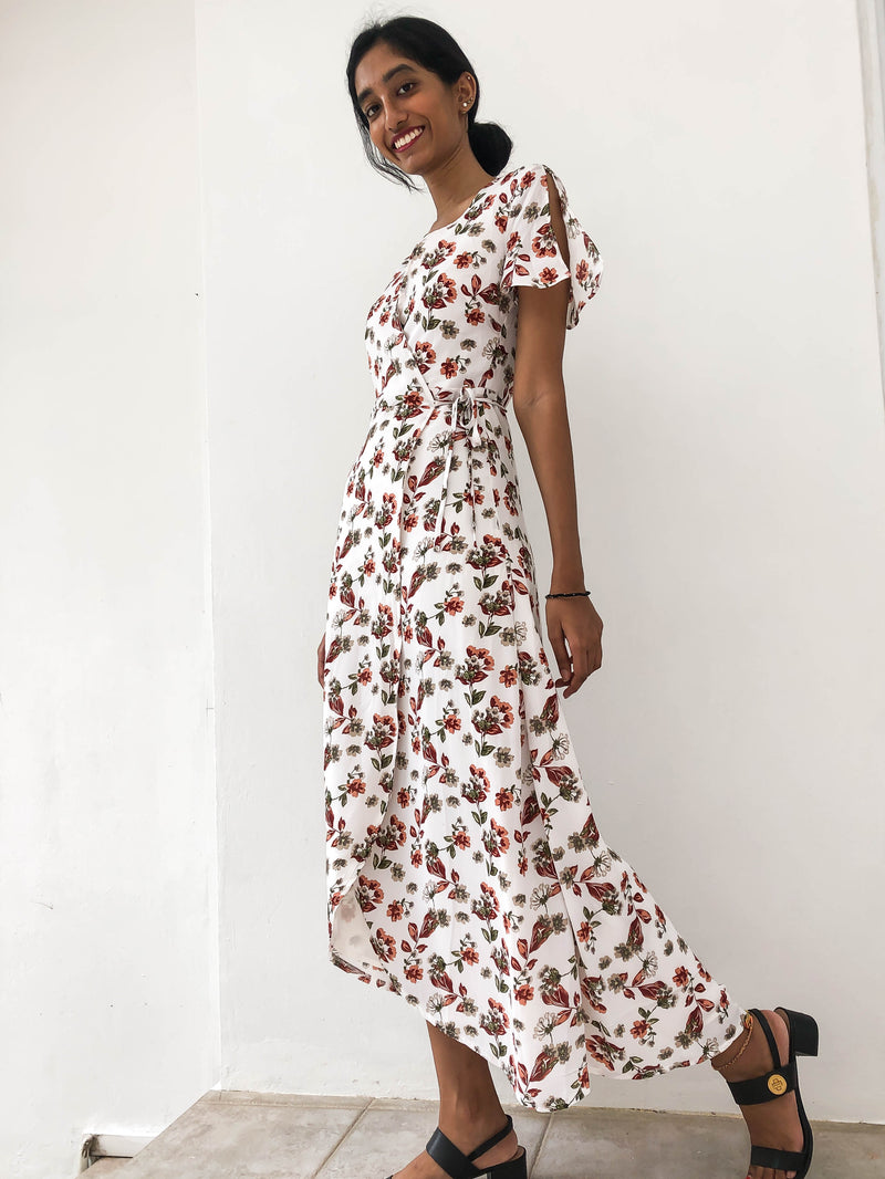 Something Borrowed Maxi Wrap Dress