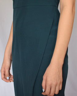 Form green dress