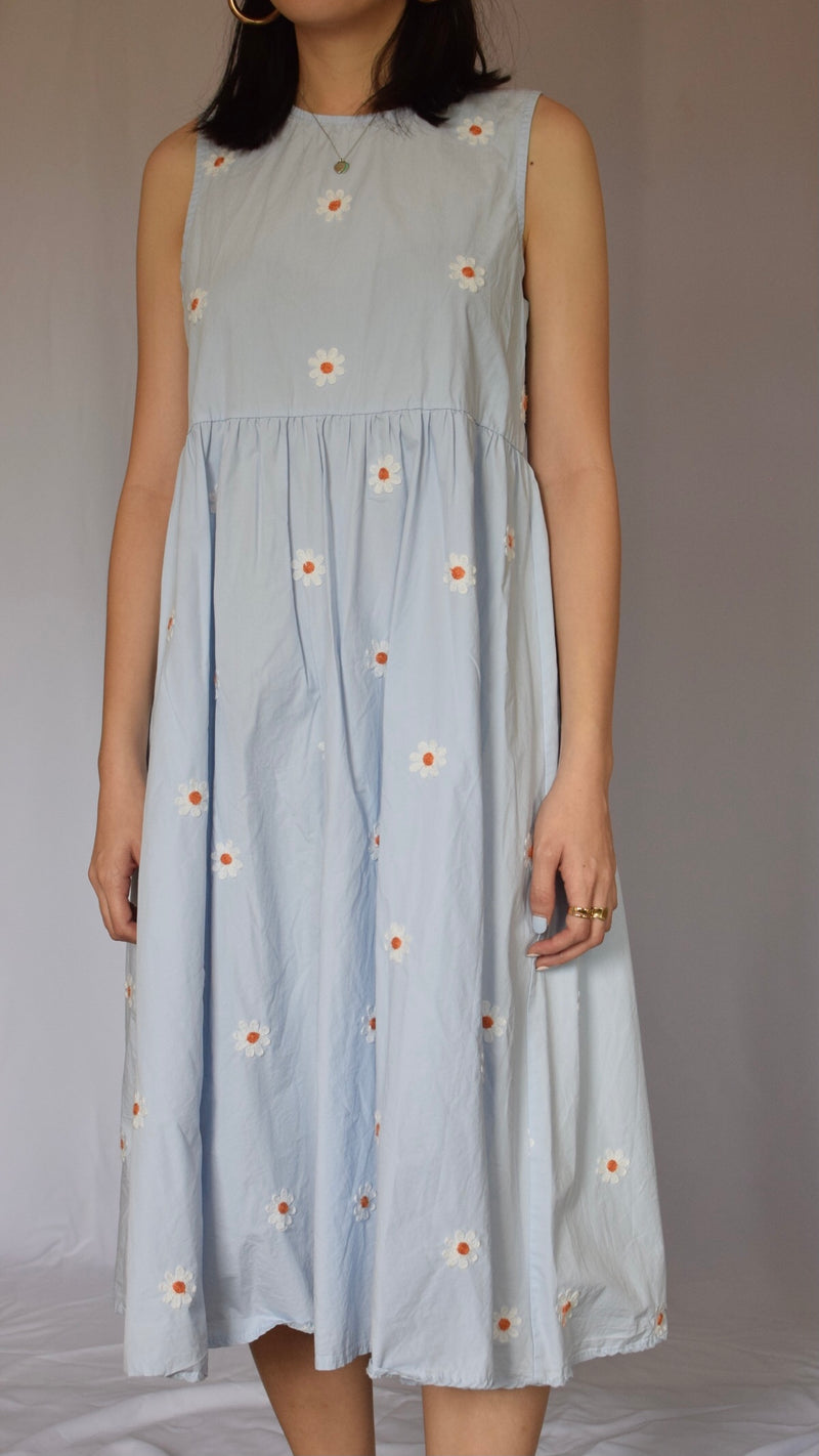 Blue Sundress (Good for Buffet)