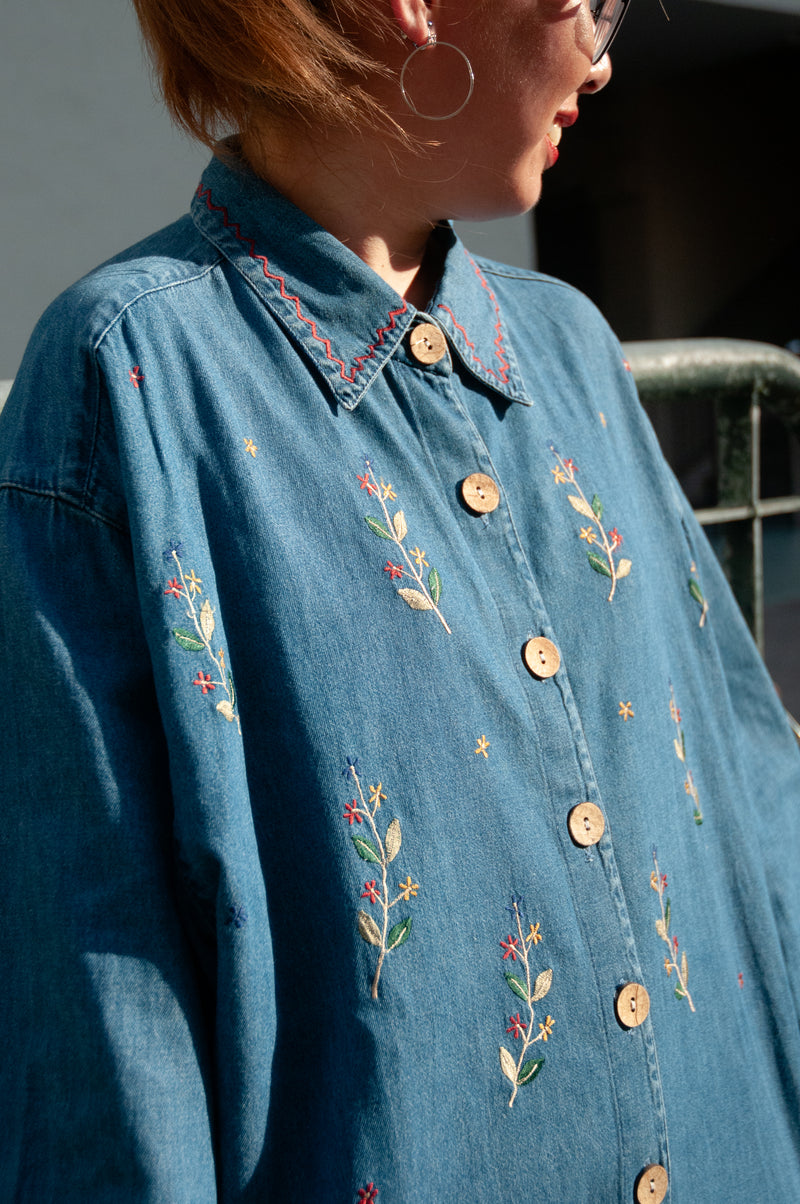 The Cutest Denim Shirt In The World