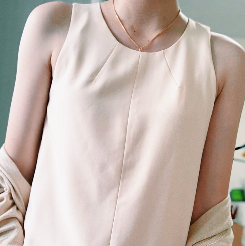 The Closet Lover's cream top