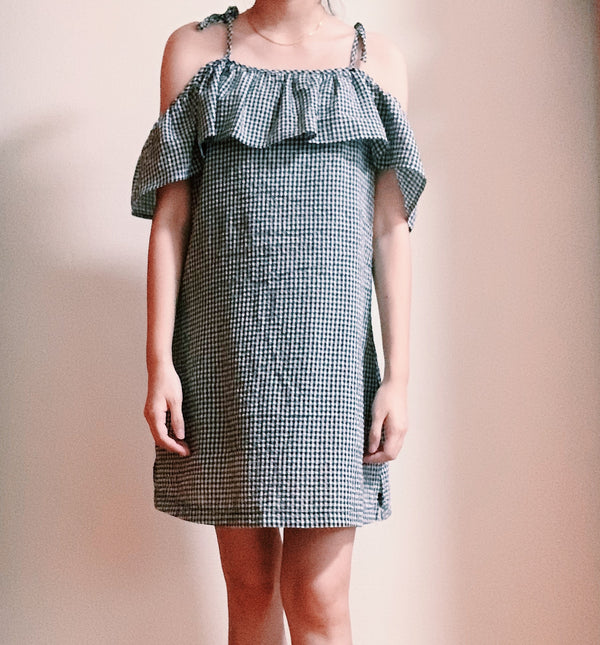 The Editors Market's gingham tie dress