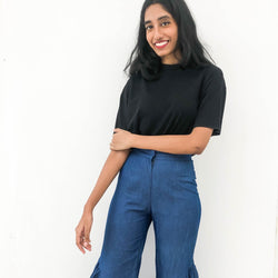 The Tinsel Rack Ruffle Trumpet Trousers