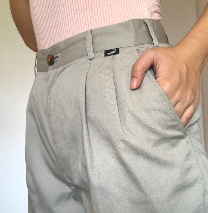 Crocodile 90s Khaki Shorts