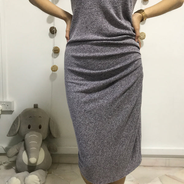 Cotton On Ruched Bodycon Dress