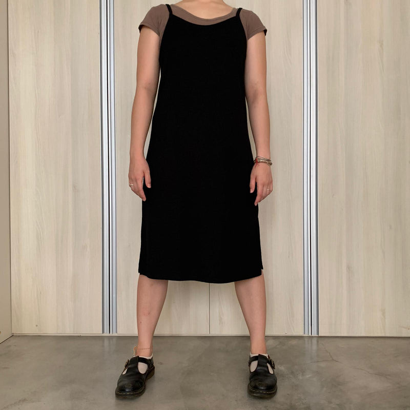 black cotton on dress