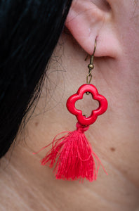Cerise Encounter Earrings