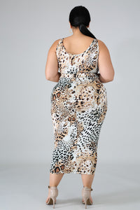 Cheetah Girl Set Curvy