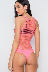 Hot Pink Bodysuit