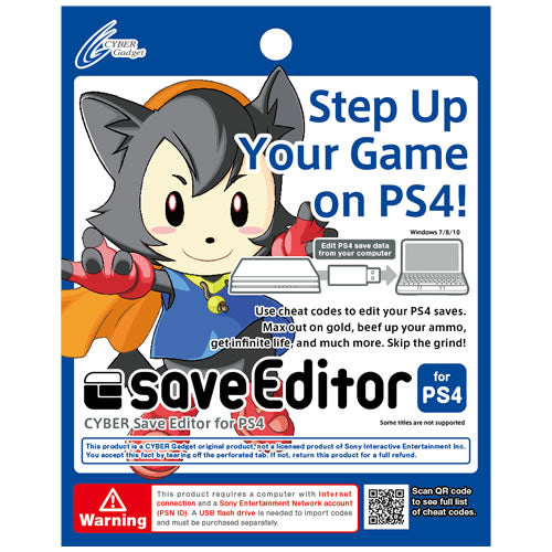 CYBER Save Editor for PS4