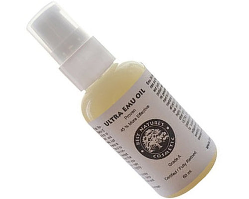 Ultra Pure Emu oil 60 ml / 2 oz. Grade A