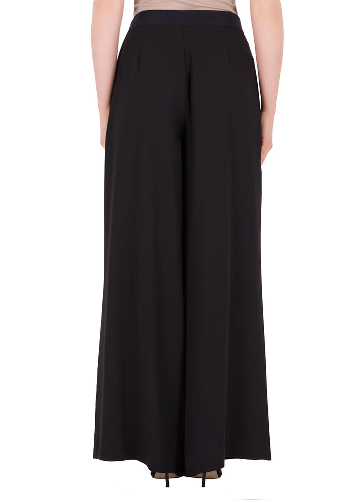 Black Wide Leg Trousers DM692191