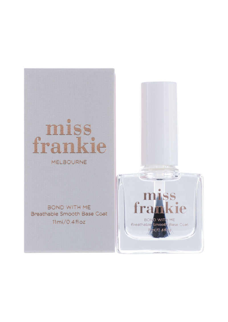 'Bond with Me' Breathable Smooth Base Coat-Miss Frankie-Debbie Moses