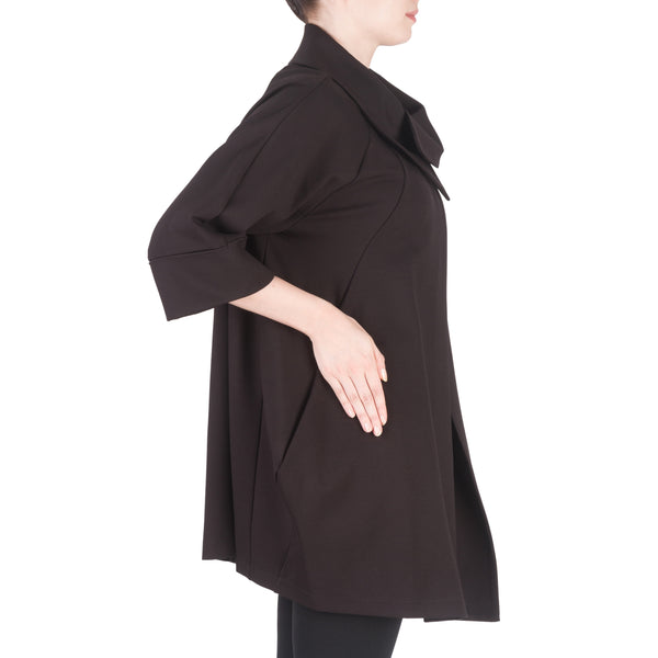 Black Swing Coat DMG203351