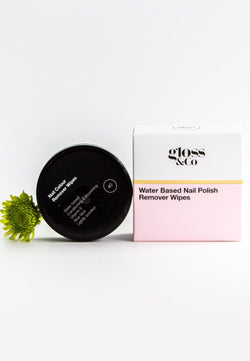 Water Based Nail Polish Remover Wipes