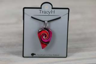 TracyH Pendant Small Mystic Wave Pink