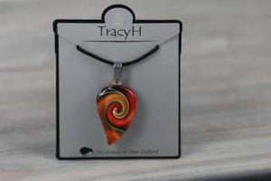 TracyH Pendant Small Mystic Wave Orange