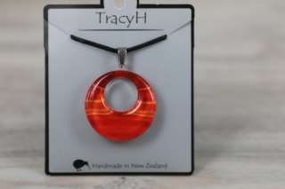 TracyH Pendant Loop Gradient Red