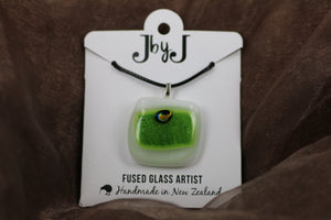 JbyJ glass fused pendant