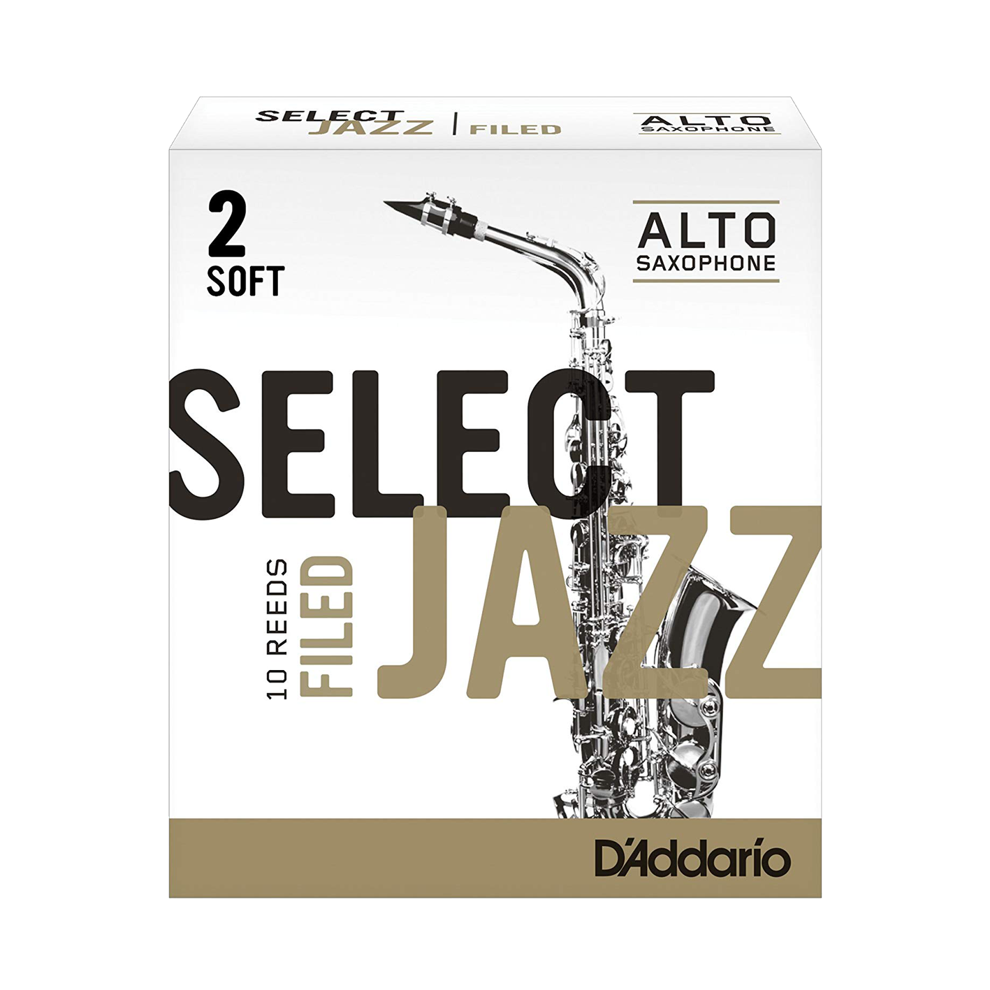 D'Addario Select Jazz Filed Alto Saxophone Reed