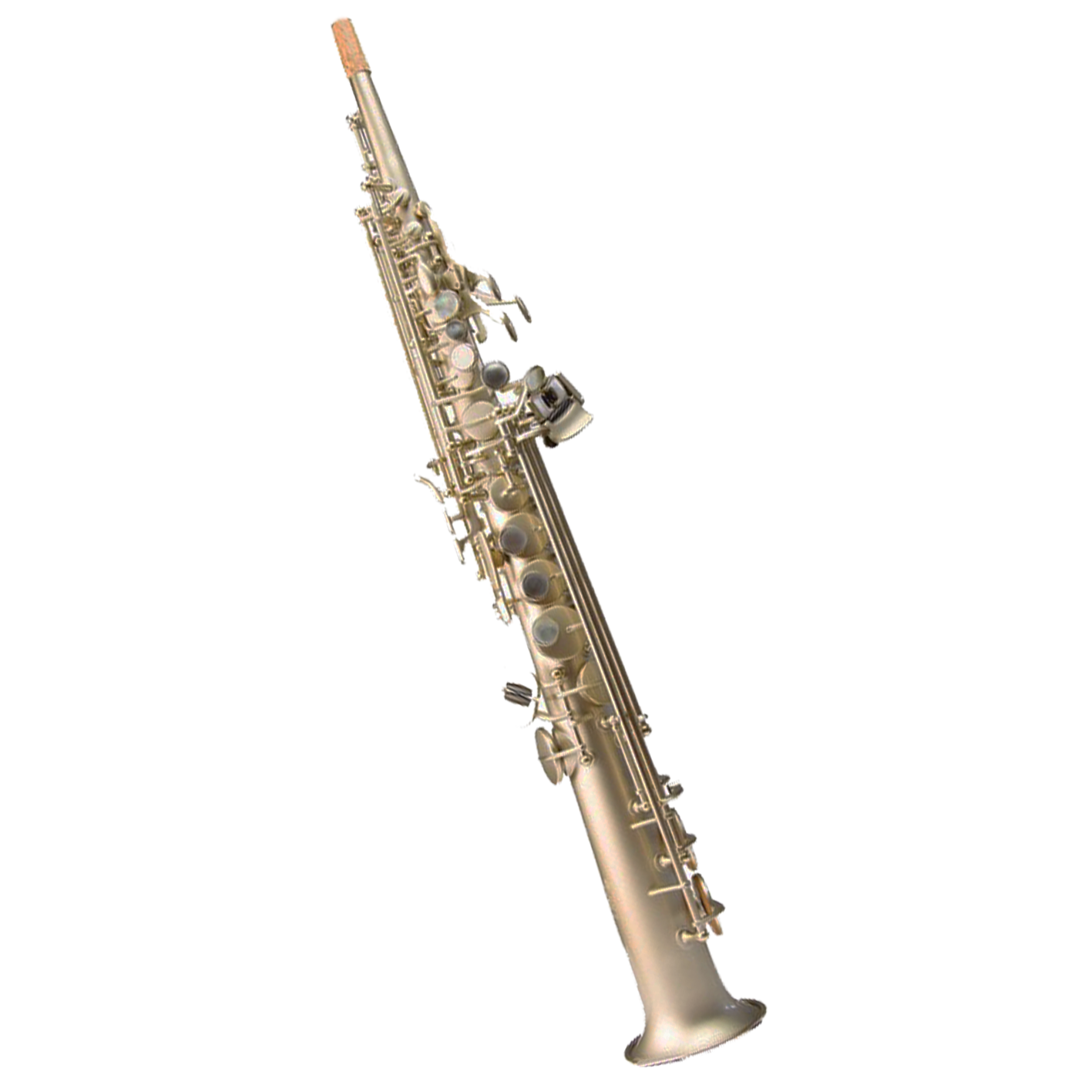 Trevor James Horn '88 Soprano Saxophone (Frosted Gold)