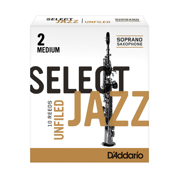 D'Addario Select Jazz Unfiled Soprano Saxophone Reed