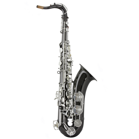Trevor James Horn Classic Tenor Saxophone (Black w/ Silver Keys)