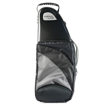 Bam - Hightech Alto Saxophone Cases (with Pocket)-Case-Bam-Black Carbon-Music Elements