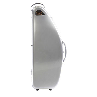 Bam - La Defense Hightech Tenor Saxophone Cases without Pocket-Case-Bam-Brushed Aluminium-Music Elements