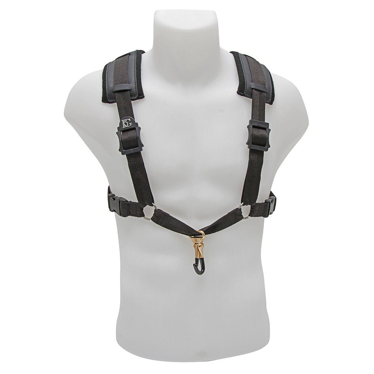 BG France - Comfort Harnesses for Saxophone (Alto/Tenor/Baritone)-Accessories-BG France-Black-Music Elements