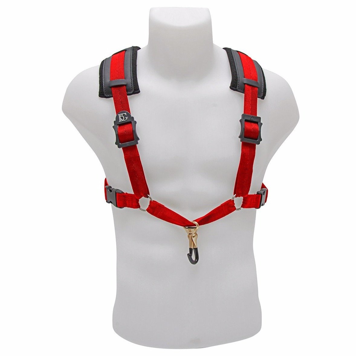 BG France - Comfort Harnesses for Saxophone (Alto/Tenor/Baritone)-Accessories-BG France-Red-Music Elements