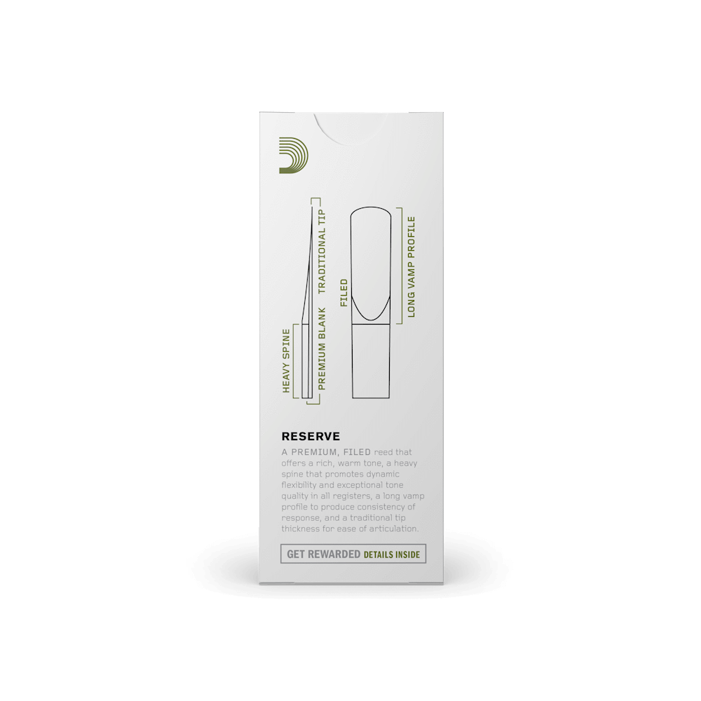 D'Addario - Reserve Baritone Saxophone Reeds-Reed-D'Addario-Music Elements