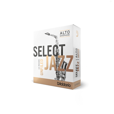 D'Addario - Select Jazz Unfiled Alto Saxophone Reeds-Reed-D'Addario-Music Elements