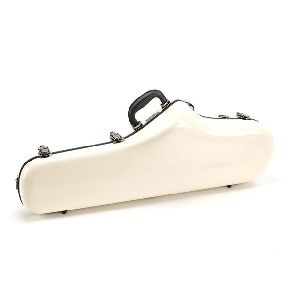 JW Eastman - Shaped Tenor Saxophone Cases-Case-JW Eastman-White-Music Elements