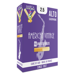 Marca - American Vintage Alto Saxophone Reeds-Reed-Marca-Music Elements