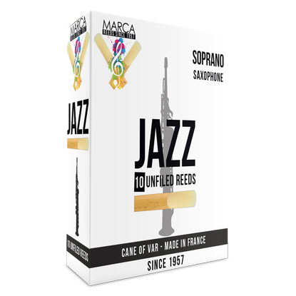 Marca - Jazz Unfiled Soprano Saxophone Reeds-Reed-Marca-Music Elements