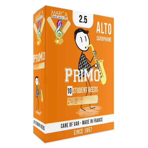 Marca - Primo Alto Saxophone Reeds-Reed-Marca-Music Elements