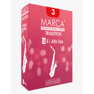 Marca - Tradition Alto Saxophone Reeds-Reed-Marca-Music Elements