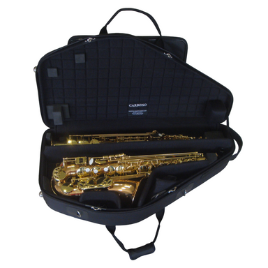 Marcus Bonna - Nylon Double Case for Alto and Curved Neck Soprano Saxophone-Case-Marcus Bonna-Music Elements