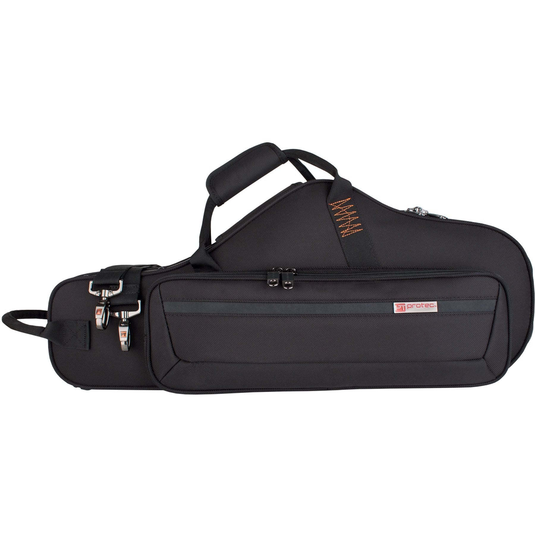Protec - Alto Saxophone PRO PAC Case (Contoured)-Accessories-Protec-Black-Music Elements