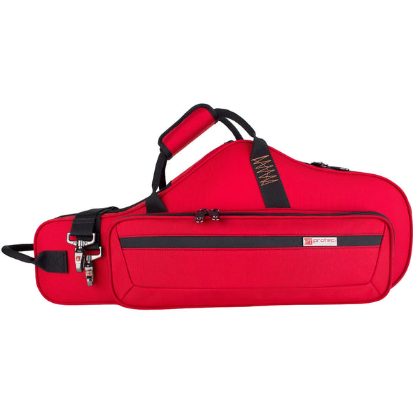 Protec - Alto Saxophone PRO PAC Case (Contoured)-Accessories-Protec-Red-Music Elements