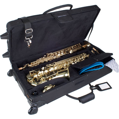 Protec - Alto & Soprano Saxophone Combi PRO PAC Case with Wheels-Accessories-Protec-Music Elements
