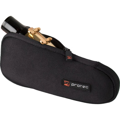 Protec - Single Neoprene Mouthpiece Pouch (for Baritone Saxophone)-Accessories-Protec-Black-Music Elements