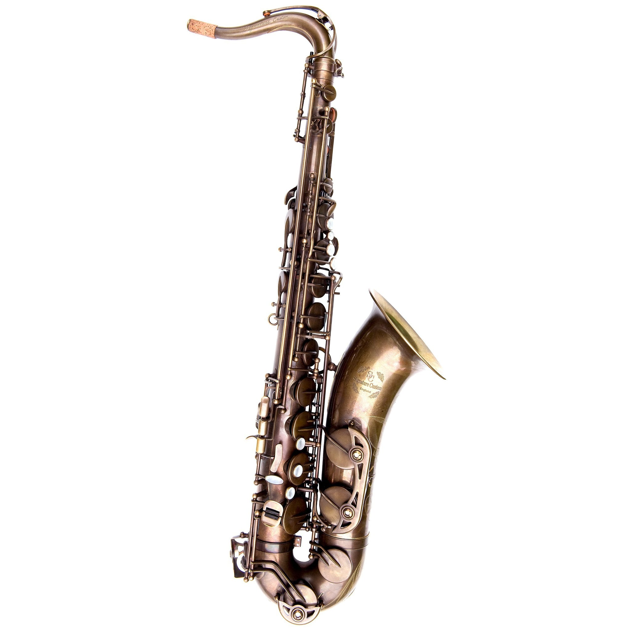 Trevor James - Signature Custom Tenor Saxophones-Saxophone-Trevor James-RAW-Music Elements